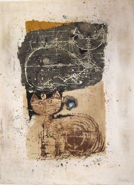 Chats III/Moderne Kunst -  Johnny FRIEDLAENDER