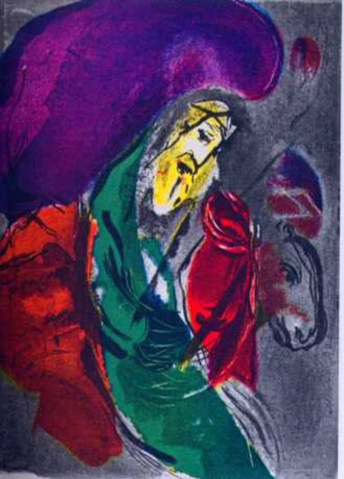 Jeremias/Moderne Kunst -  Marc CHAGALL