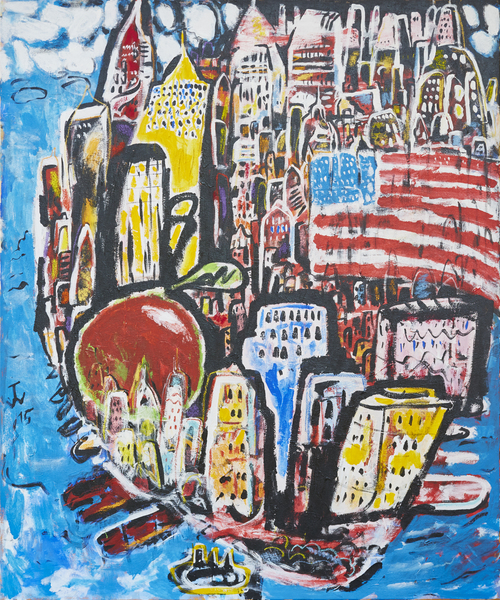 Big Apple/Moderne Kunst -  Thomas WALLMEYER